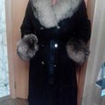 Продам плащ-пальто, кожа крэк., Новосибирск