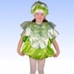 Карнавальный детский костюм Капусты, Новосибирск