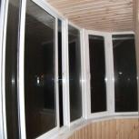 Закругленный балкон 1500х4950, Новосибирск