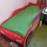Продам детскую кровать Молния Маквин, Новосибирск