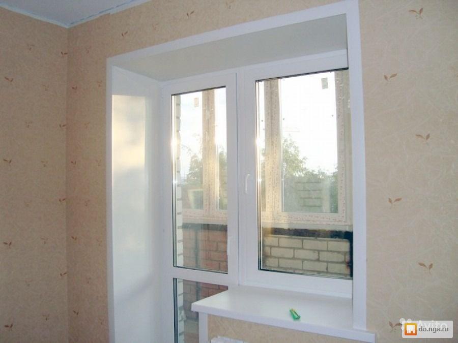 Ремонт окон откосы остекление балконов лоджий под ключ . цен.