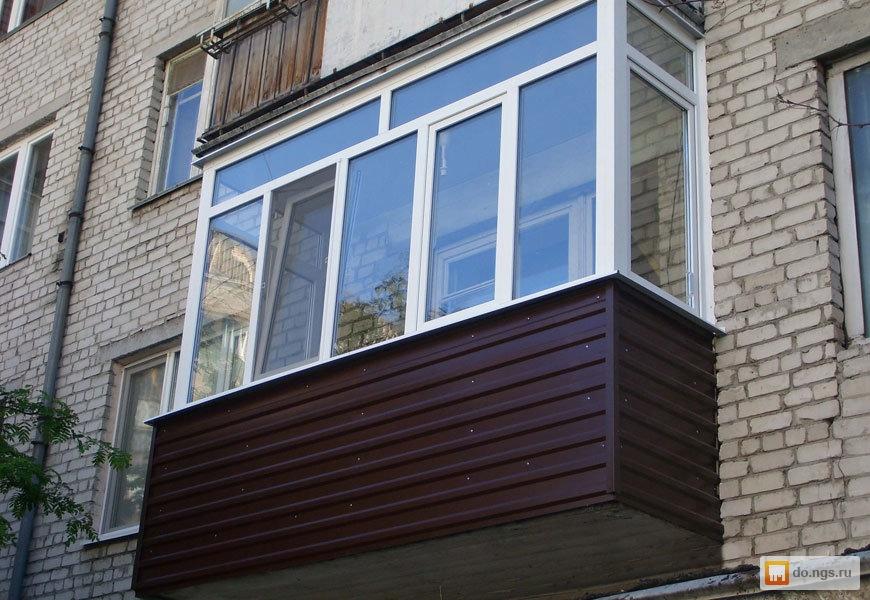 Балконы, окна, лоджии - под ключ . цена - 259.00 руб., новос.