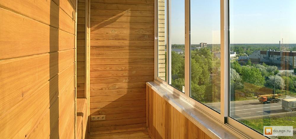 Остекление балконов и лоджий . цена - 100.00 руб., новосибир.