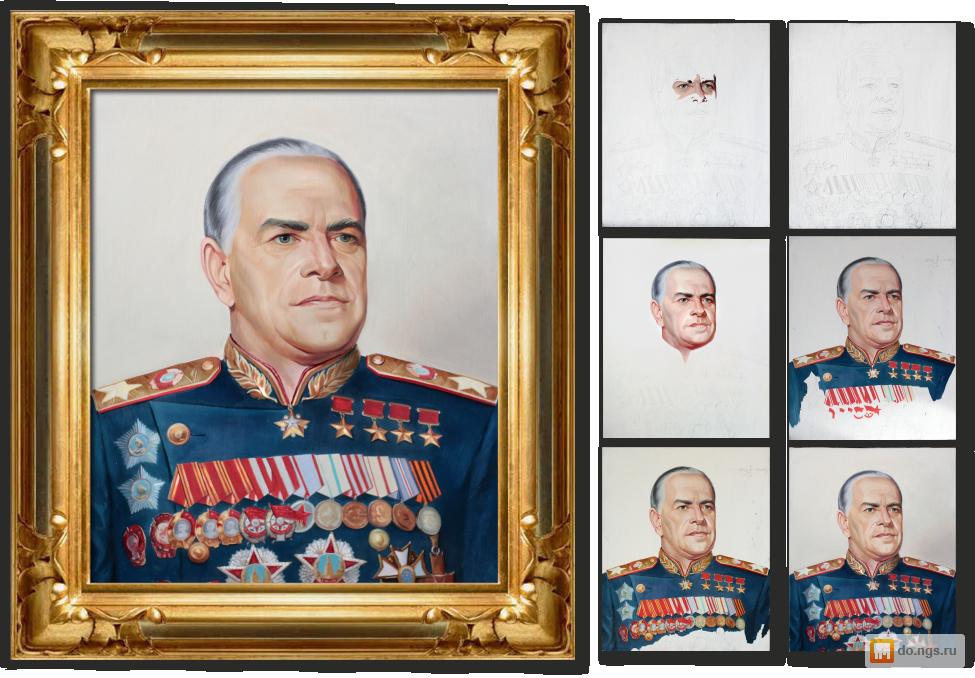 горцы портрет по фотографии новосибирск при