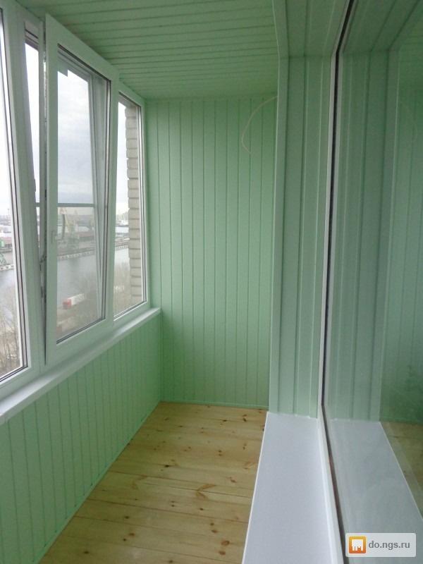 Утепление балконов и лоджий. полная отделка. цена - договорн.