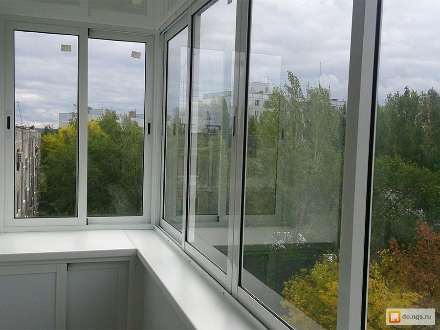 Алюминиевый балкон (кв) . цена - 3000.00 руб., новосибирск -.