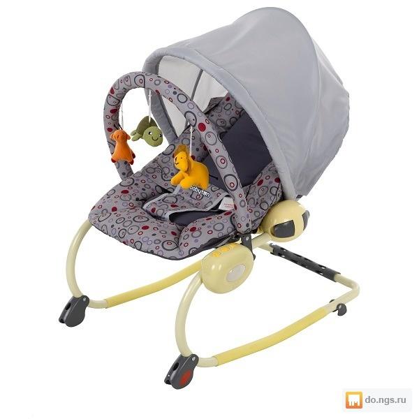 Шезлонг для новорожденных babyton