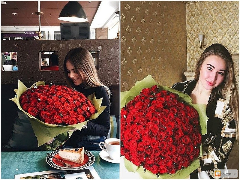 Аренда роз для фото