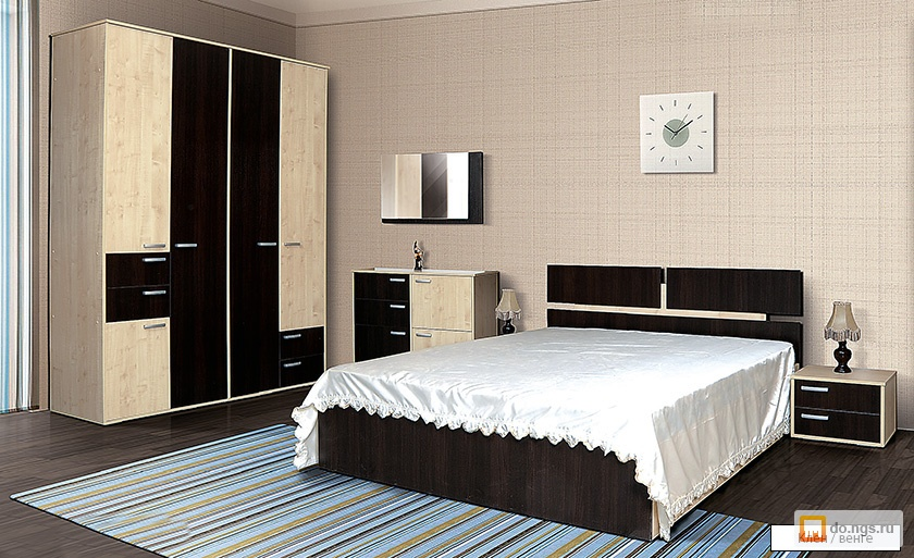 Спальня ивушка -2 (ас-м) , фото. цена - 32033.00 руб., новос.