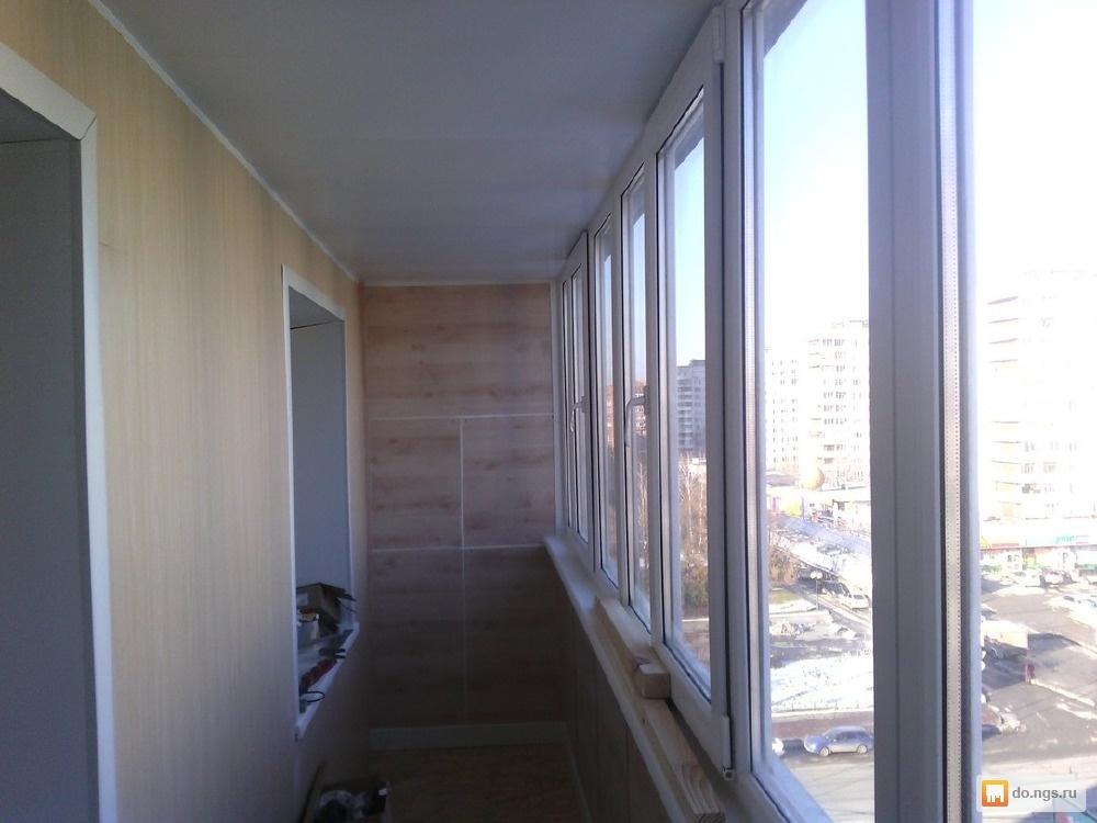 Остекление балконов и лоджий. отделка, утепление балконов, л.