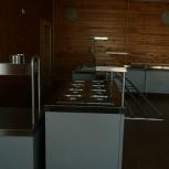 линия раздачи для столовой/кафе, Новосибирск