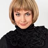 высококачественные парики из натуральных волос, Новосибирск