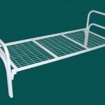 Металлические кровати одноярусные, двухъярусные. Опт, низкие цены, Новосибирск