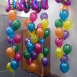 Воздушные шары на 8 марта, Новосибирск