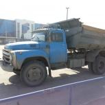 Песок, щебень, пгс, доставка ЗИЛом, Новосибирск