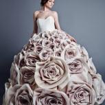 оригинальное свадебное платье от дизайнера, Новосибирск