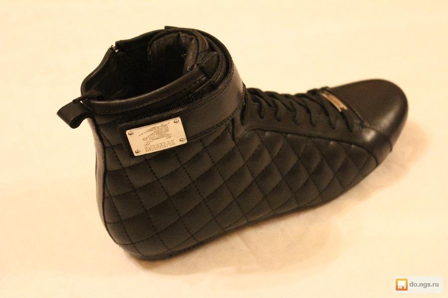 186840db6097 Брендовая мужская обувь Burberry нат. кожа фото, Цена - 3900.00 руб ...