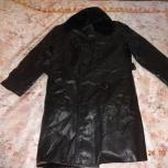 Продам кожаное пальто, размер 50, Новосибирск