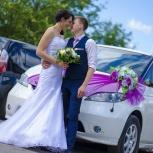 Автомобиль на свадьбу, 7 мест! Украшения в подарок!, Новосибирск