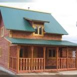Строим дома, коттеджи, бани из бруса под ключ. Недорого!, Новосибирск