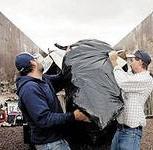 Вывоз мусора самосвалами ЗиЛ, КамаЗ, Новосибирск
