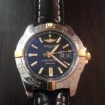 Часы Breitling Galactic 41  с золотом! Оригинал, Новосибирск
