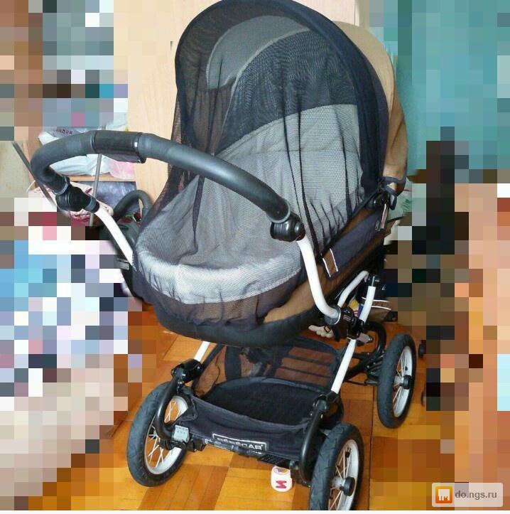 Бебикар коляска люлька с поворотными колесами