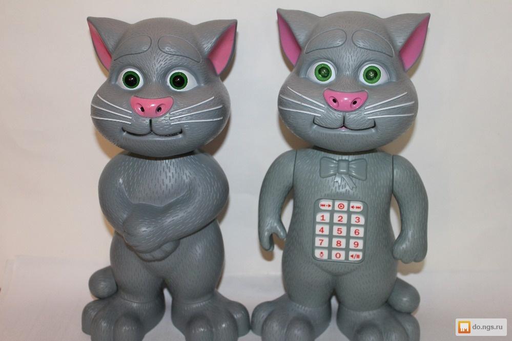 Серый кот том говорящий видео