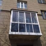 Французское остекление балкона, Новосибирск