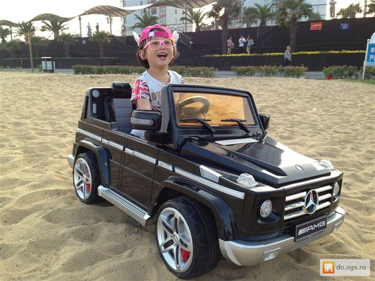 Электромобиль Гелендваген Купить детский электромобиль