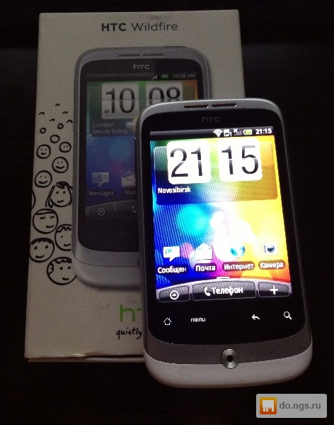 da9289fe4f40f Телефон HTC Wildfire A3333 Цена - 4000.00 руб., Новосибирск - НГС.ОБЪЯВЛЕНИЯ