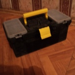 Кейс пластиковый чёрный для инструмента, Новосибирск