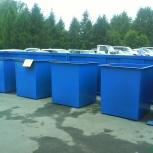 Контейнеры  для мусора металлические, мусорные баки, Новосибирск