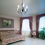 Матовый натяжной потолок 30 кв.м. шт., Новосибирск
