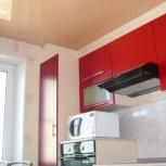 Натяжной потолок на кухне 9 кв.м (шт.), Новосибирск