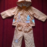 Стильный детский демисезонний костюм для девочки, Новосибирск