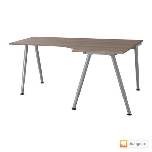 стол письменный угловой Ikea бу фото цена 550000 руб