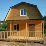 Продам дом из полубруса  или бруса, Новосибирск