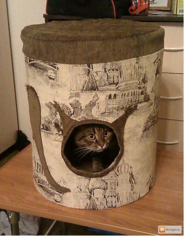 Бу домики для котов