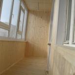 Обшивка балконов и лоджий, Новосибирск