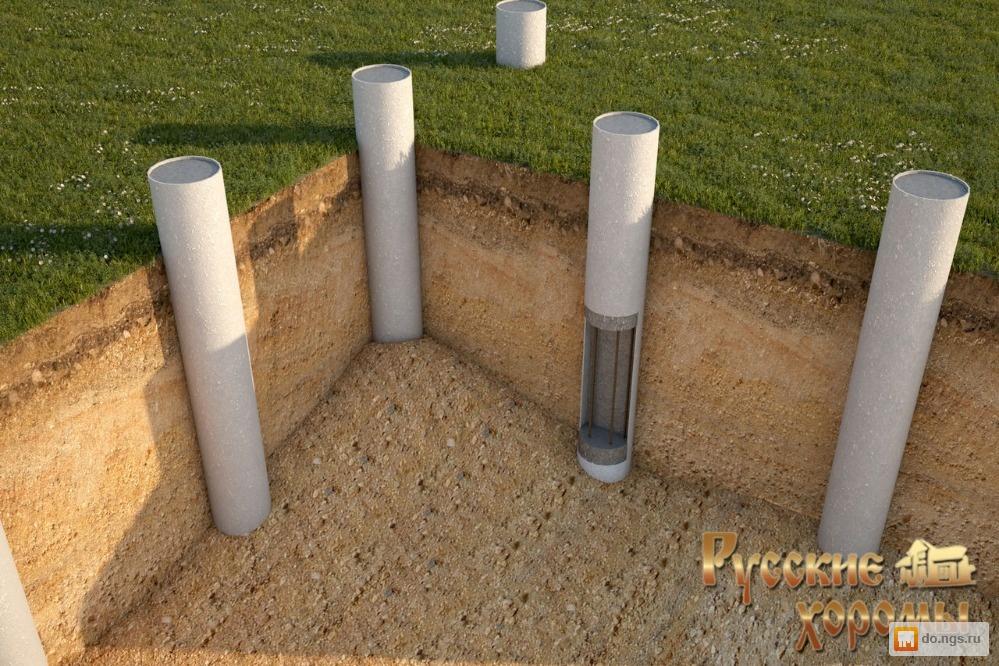Буронабивные сваи бетон шкатулки из бетона