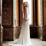 свадебное платье из кружева, Новосибирск
