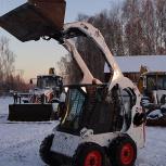 Аренда мини-погрузчика bobcat s175, Новосибирск