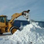 Вывоз снега, Новосибирск