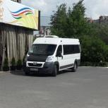 Заказ микроавтобуса pegeot boxer лично, Новосибирск