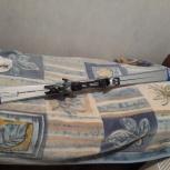 продам горные лыжи с креплениями и ботинки 41-42р. комплектом!, Новосибирск