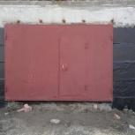 Ворота (шт.) лист 3 мм, Новосибирск