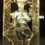 Ледяная скульптура, Новосибирск