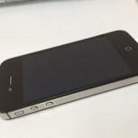 Черный iPhone 4s 16Gb, Новосибирск