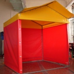Изготовление торговых палаток с нанесением рекламы, Новосибирск